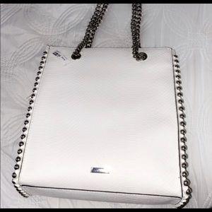 ALDO white purse NWT